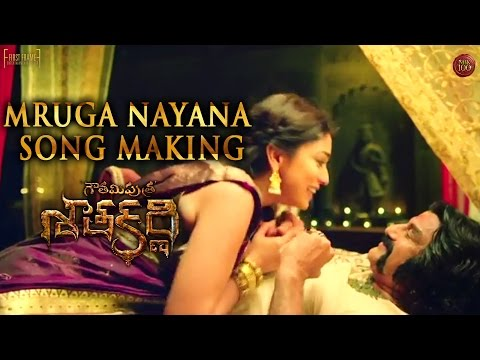 Gautamiputra-Satakarni-Movie-Mruga-Nayana-Song-Making