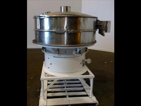 Used- Macon Screener, 316 Stainless Steel - stock # 48604003