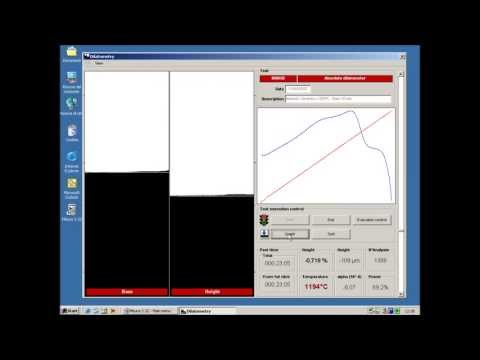 Dilatómetro Óptico Vertical Misura® ODHT