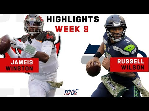Jameis Winston & Russell Wilson Took Their Battle to OT | NFL 2019 Highlights