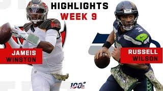 Jameis Winston & Russell Wilson Took Their Battle to OT | NFL 2019 Highlights