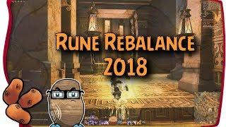 Guild Wars 2 - 2018 Rune Rebalance First Impressions