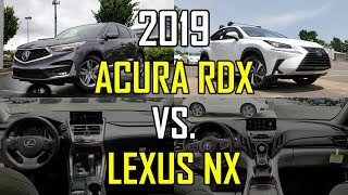 Best Luxury Japanese CUV -- 2019 Acura RDX vs. 2019 Lexus NX 300: Comparison