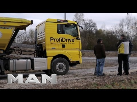 MAN ProfiDrive - Industry training for short timber haulage