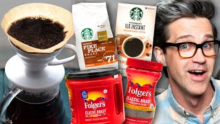 Instant Coffee vs. Pour Over Coffee Taste Test