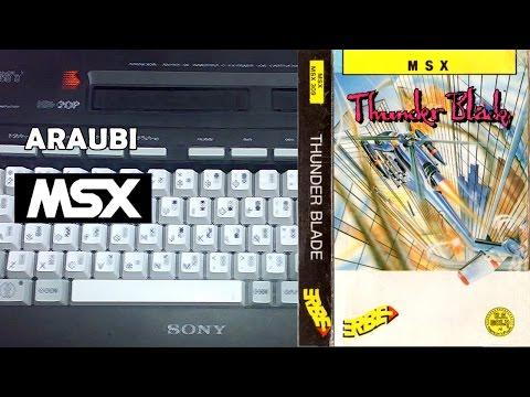 Thunder Blade (US Gold, 1988) MSX [163] Walkthrough Comentado