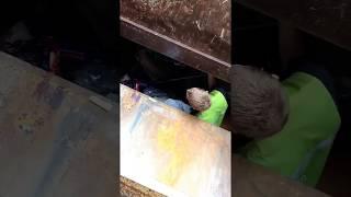 Jumped in a Trash Compactor, 40-KeyZ Filmed It!