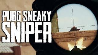Sneaky Sniper in PUBG (Playerunknown's Battlegrounds)