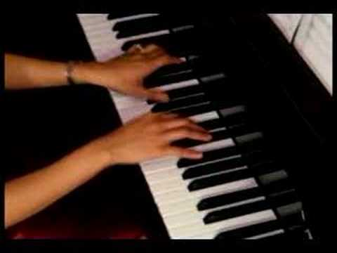 Think Of Me piano from THE PHANTOM OF THE OPERA