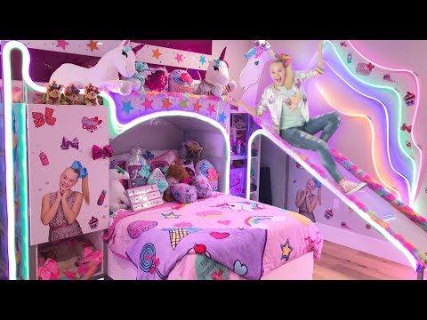 MY NEW BEDROOM!! **EPIC ROOM TOUR**