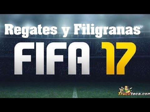 FIFA 17 - Como hacer Regates y Filigranas