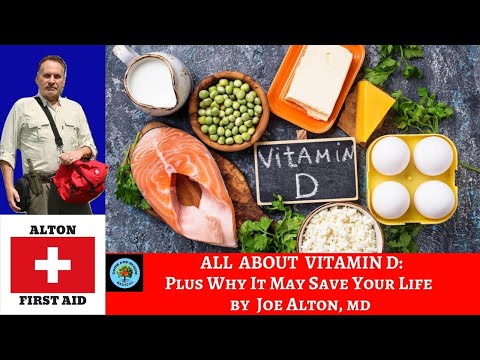 All About Vitamin D and Health by Dr. Joe Alton