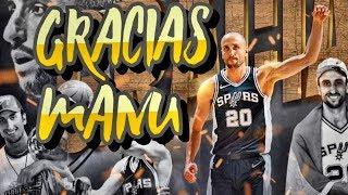 FRASES DE ESTRELLAS NBA SOBRE MANU GINOBILI #GRACIASMANU