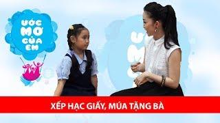 Thùy Trang hết lòng trợ giúp ước mơ của cô bé hiếu thảo | ƯỚC MƠ CỦA EM 🤗