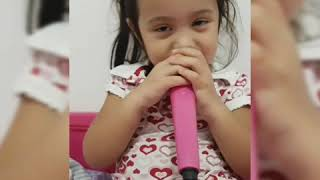 Let It Go Cover by 3 Years Old