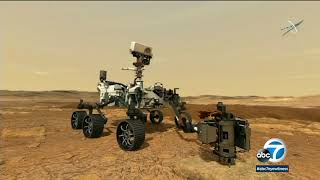 NASA releases first images taken by Mars Perseverance rover after historic landing | ABC7