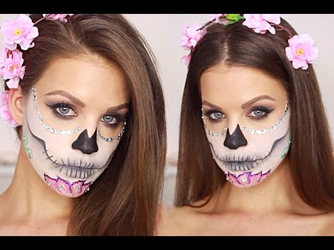 Baixar Sugar Skull Makeup Tutorial │Karin Dragos