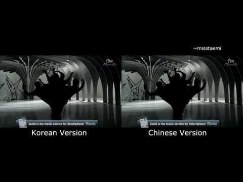 EXO '늑대와 미녀 WOLF' Music Video [Korean & Chinese version]
