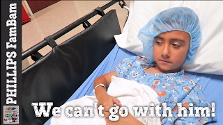 BOYS FIRST SCARY SURGERY AT THE HOSPITAL