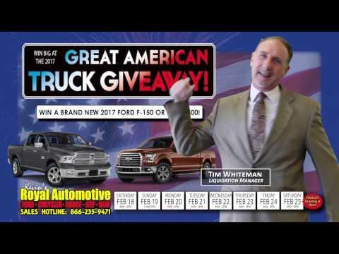 Kevin's Royal Automotive - Presidents Sale!