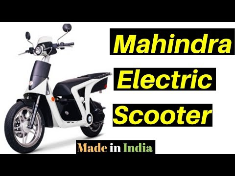 Mahindra First Electric Scooter Made in India | Peugeot GenZe
