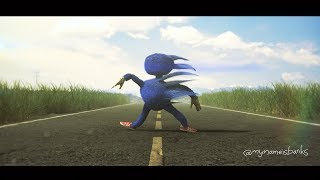 Sonic The Hedgehog Movie - New Character Design