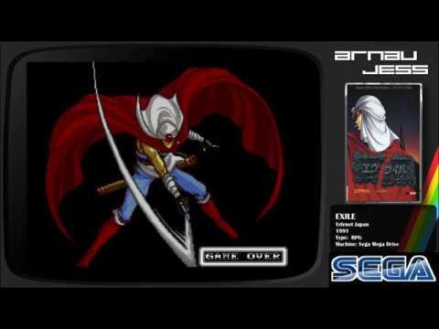 EXILE Sega Mega Drive