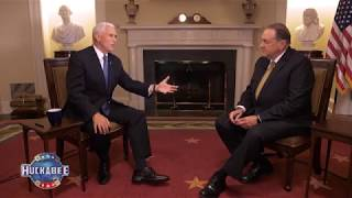 EXCLUSIVE: Vice President Mike Pence Discusses Israel, The Economy & Our Military | Huckabee