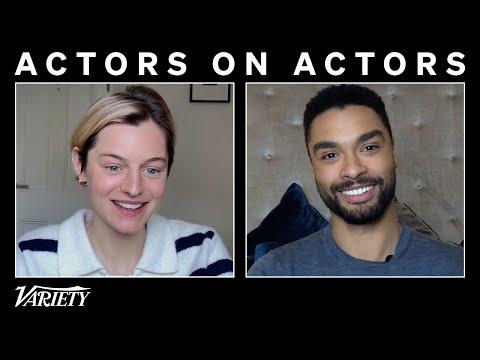 Regé-Jean Page & Emma Corrin on 'The Crown' and 'Bridgerton' | Actors on Actors