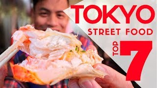 Japanese Street Food Market Tour Top 7 Must Eat at Ameya Yokocho | Tokyo Food Guide