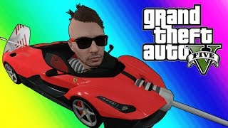 GTA 5 Online Funny Moments - The Off Season Runback (Overtime Rumble Game Mode)