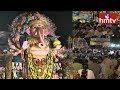 Devotees Huge Rush at  Khairatabad Ganesh Idol | hmtv Telugu News