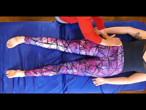 Relaxing Bodywork with Athena Jezik: Joint Mobility for Hips, Leg Massage, Quad Stretch, How To