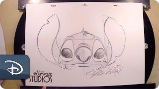 How-To Draw Stitch | Walt Disney World