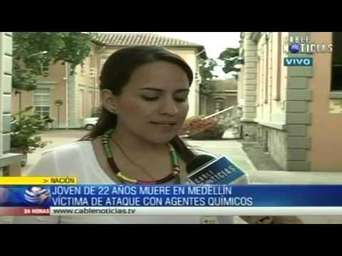 Muere joven atacado con ácido en Antioquia
