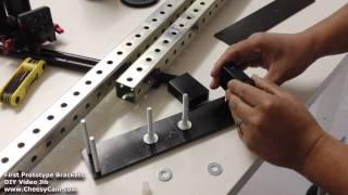 DIY Video Jib / Crane Brackets