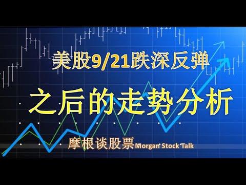 【20088】美股9/21大跌中反弹,会延续几天?总统大选临近的走势分析
