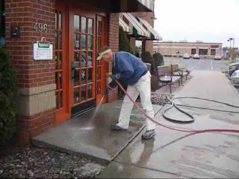A-1 Concrete Leveling at Applebee's