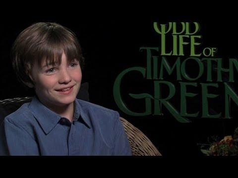 'The Odd Life of Timothy Green' CJ Adams Interview
