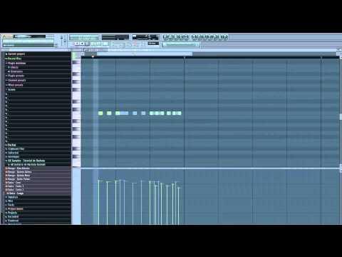 Tutorial: Como Hacer Una Pista De Bachata Parte 1 de 3 (FL Studios) By GK