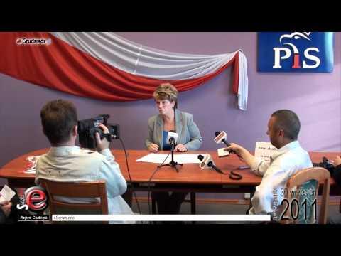 Konferencja prasowa poseł Marzenny Drab: Budżet 2012