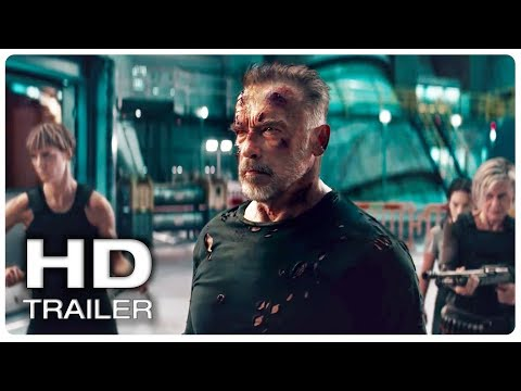 Movie Trailer : TERMINATOR 6 DARK FATE Final Trailer Official (NEW 2019) Arnold Schwarzenegger Movie HD