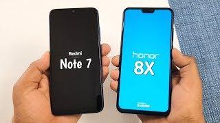 Redmi Note 7 vs Honor 8X SpeedTest & Camera Comparison