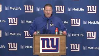 Ben McAdoo on Win Over The Chifs | Giants vs Chiefs Week 11 | Nov 19, 2017