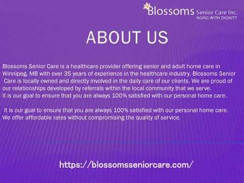 Elderly Home Care Winnipeg