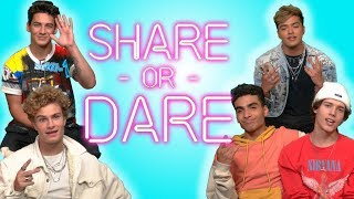 In Real Life Share What's In Their Phones | SHARE OR DARE