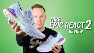 Nike Epic React 2 Flyknit Review & Epic React Comparison