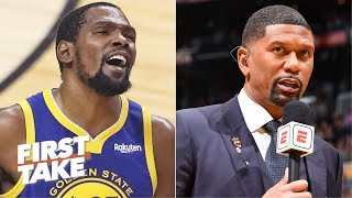Jalen Rose warned us about KD's bad workout and the trolls bashed him! - Max Kellerman   First Take