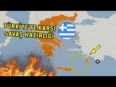 Yunanistan'dan Savaş Hazırlığı Çoban Adasına Askeri Yığınak!