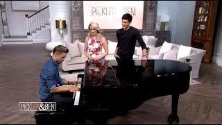 Derek Hough Chats DWTS Mirrorball With Kellie, Ninja Warrior & Piano Performance (Pickler & Ben)